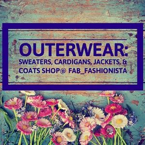 Outerwear, sweaters, cardigans